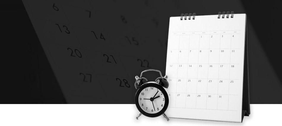 Acompanhe nosso calendário