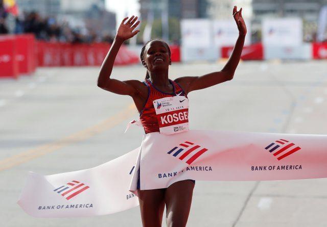 Ruth Chepngetich Instituiu um novo recorde na Meia Maratona de Istambul