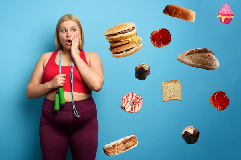 E se eu fizer exercício, posso comer o que quiser e continuar emagrecendo?